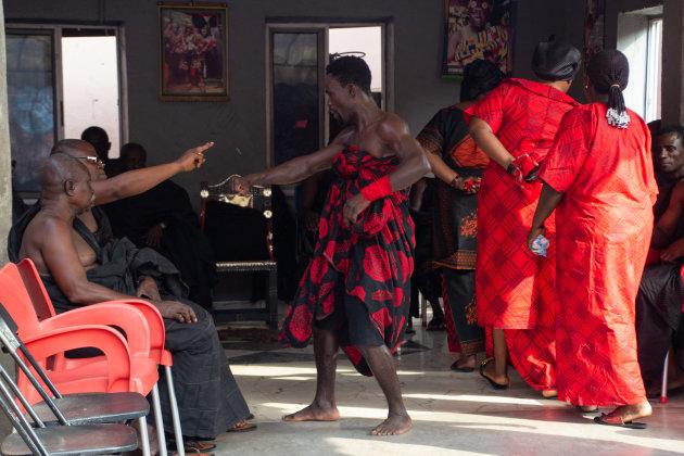Begrafenis met veel status in Kumasi (1)