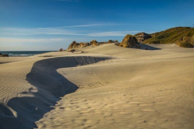 Wharariki Beach, veel afwisseling en heel, heel erg mooi