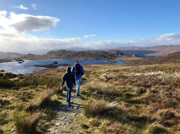 Wandelen door de Schotse Hooglanden