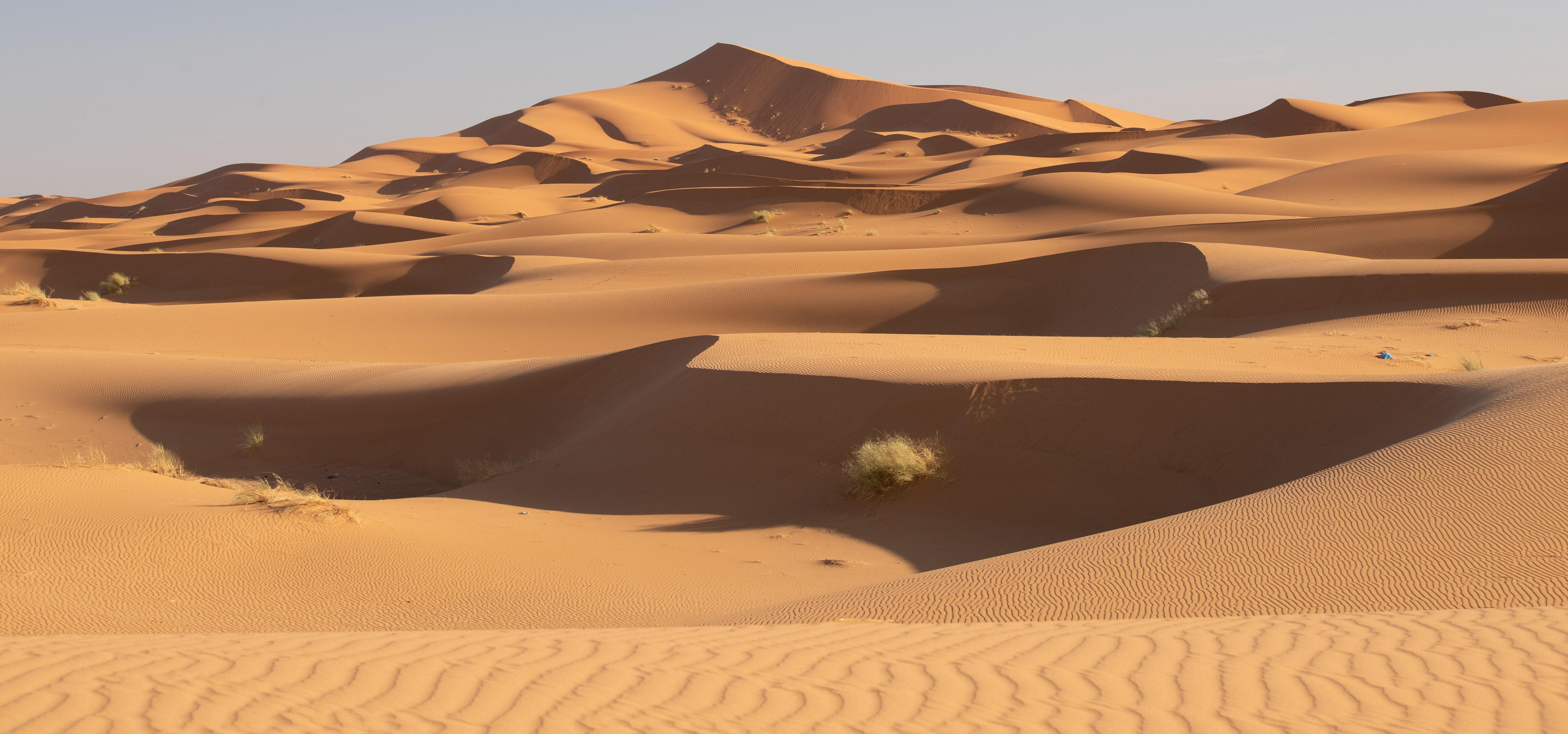 Verloren in zand