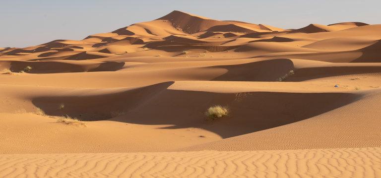 Hoofdfoto bij reisverhaal 'Verloren in zand'