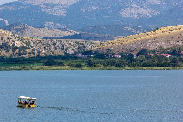 Varen op het meer van Profito