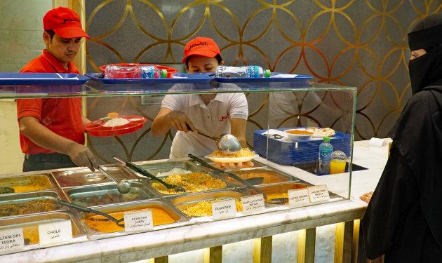 Fastfood in Dubai