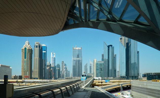 Met de metro in Dubai is geen straf