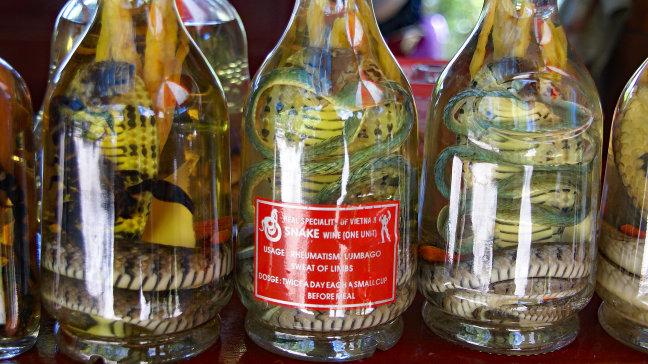 Snake wine: gezond drankje
