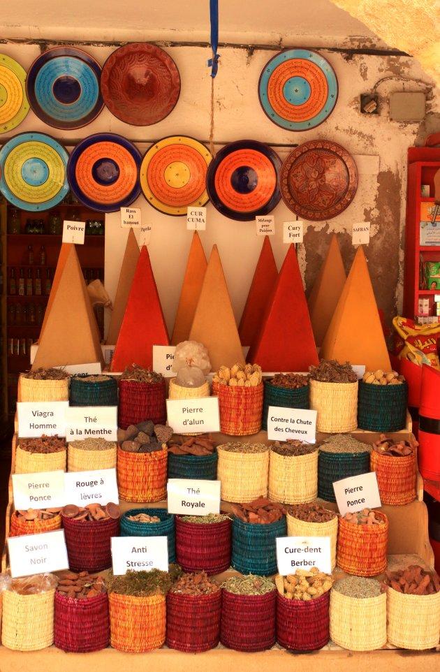 De kruiden van Marokko
