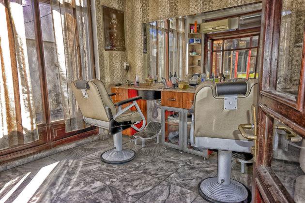 Barbier oude Bazaar