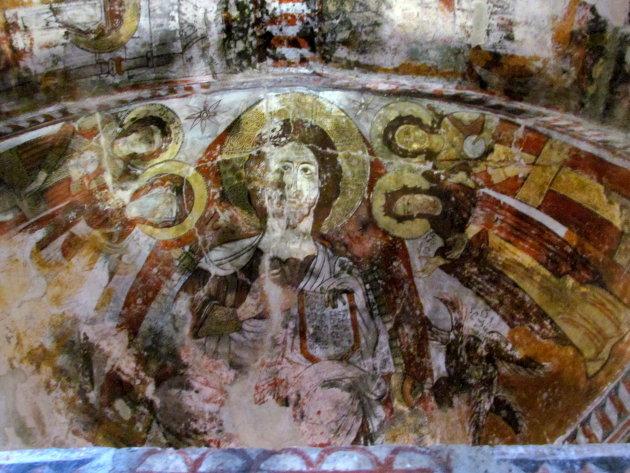 fresco's van koningin Tamar