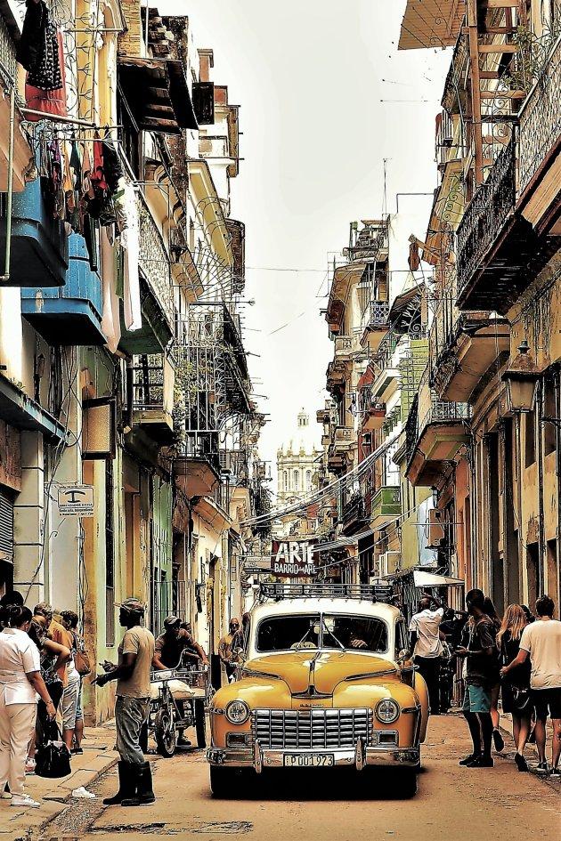 Drukte in Havanna