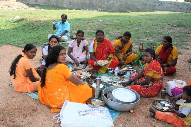 Picknick in Old Goa