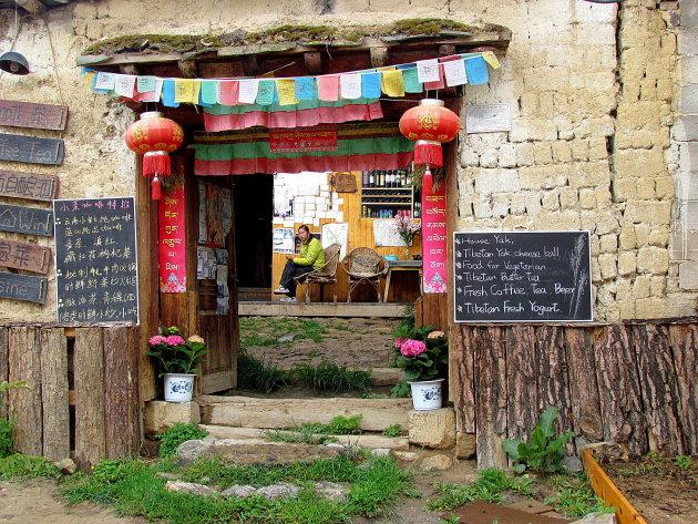 Tibetaans eten in Shangri-La