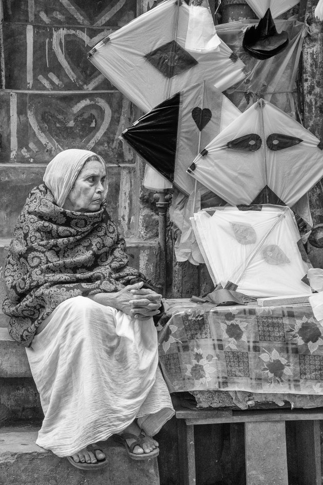The kite-seller