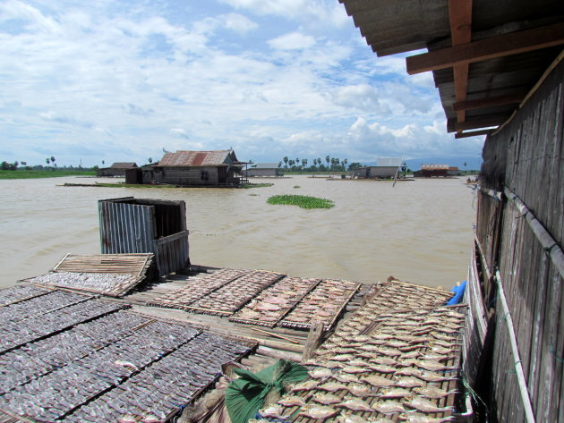 Drijvend vissersdorp