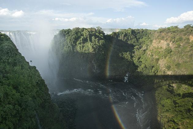 Zimbabwe Zambia Victoria Watervallen