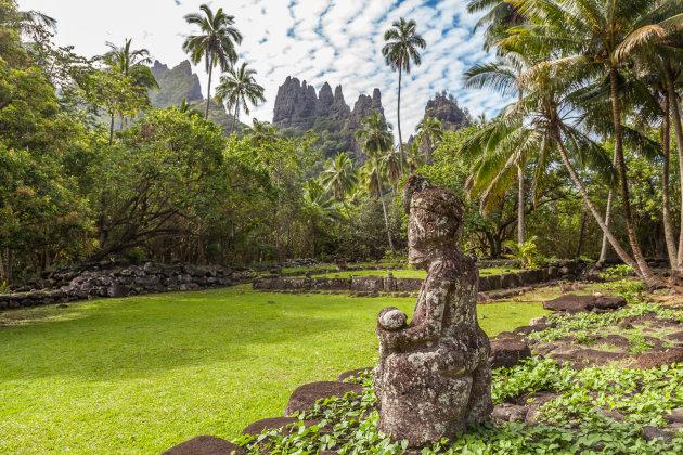 Tiki's op Nuku Hiva