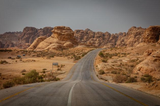 De weg naar Petra