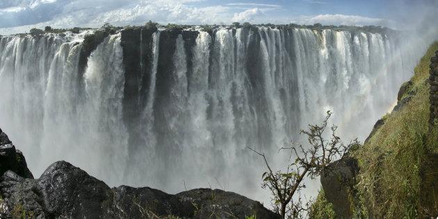 Victoria Watervallen Zimbabwe Zambia