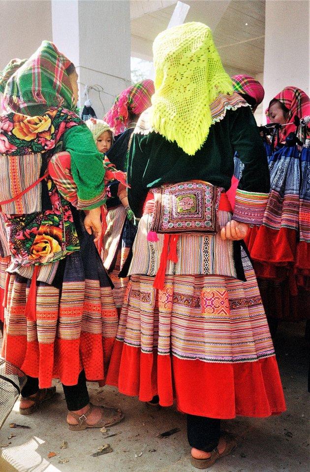 Kleurrijke Flower Hmong