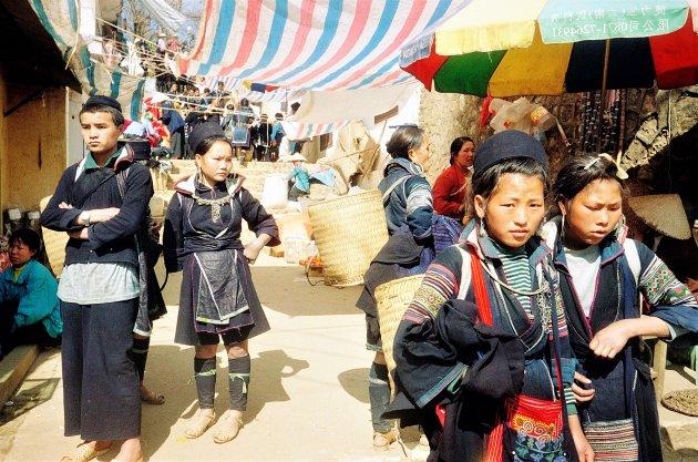 Marktdag in sapa