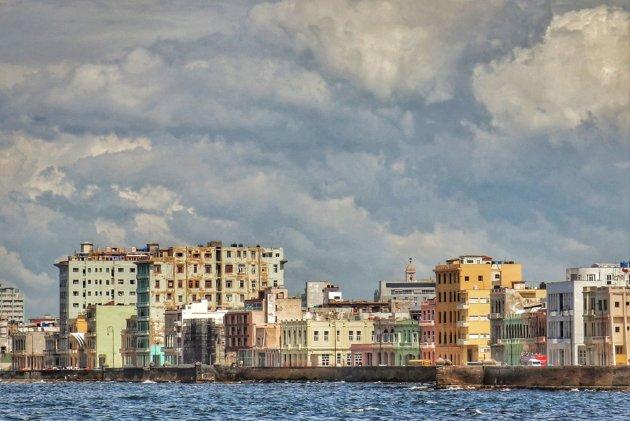 met zicht op de Malecon en Havana