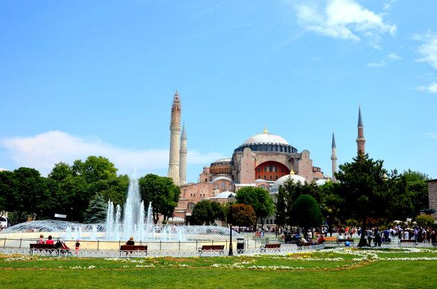 Hagia Sofia  weer moskee.