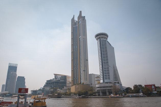 Wolkenkrabbers in Bangkok