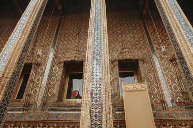 Details van het Koninklijk Paleis Bangkok