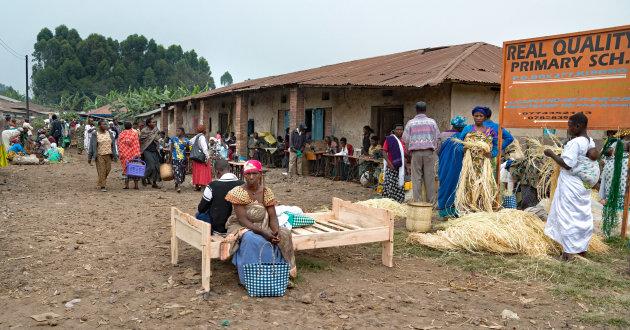 Naar Beter Bed in Kisoro