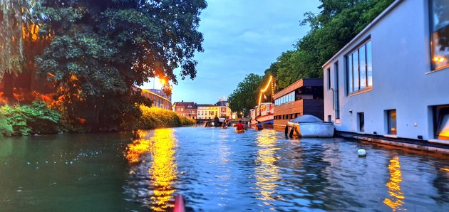 Kayak Stadsbuitengracht Utrecht