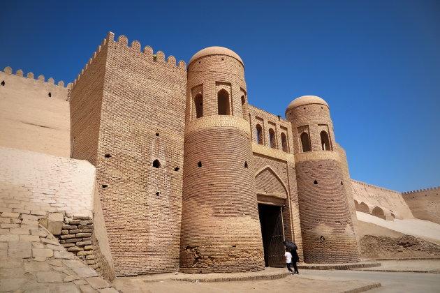 Khiva 's zuidpoort