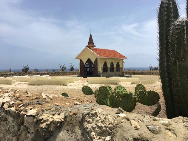 Serene rust bij Alto Vista Kapel