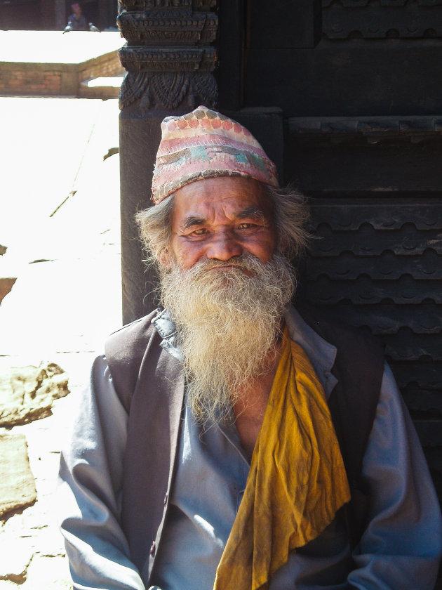 Een goedgemutste Nepalees