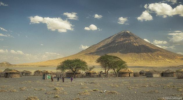 Masai bij Lake Natron