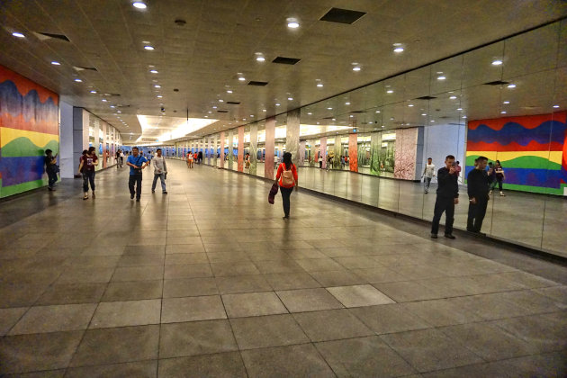 Metrostation in Singapore
