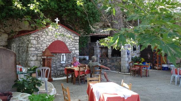 Paraskevi, voorbij Anatoli op Kreta.