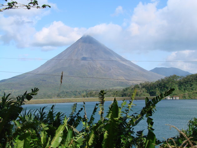 Arenal vulkaan.