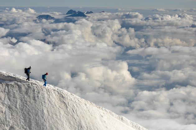 Op naar de top!
