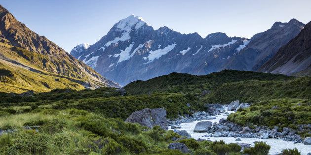 Mount Cook en de Hooker Valley