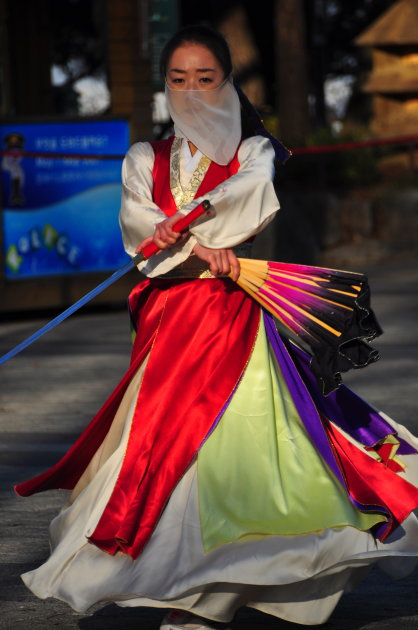 Korean traditional dance, Seoul