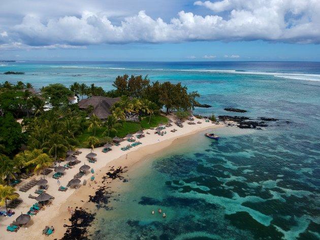 Strandje Mauritius