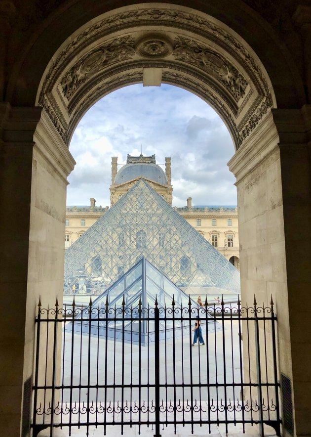 Rust in het Louvre