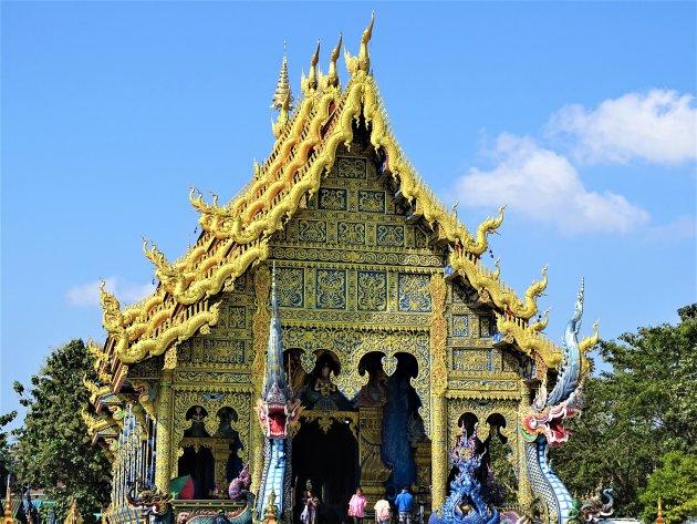 De Blauwe Tempel.