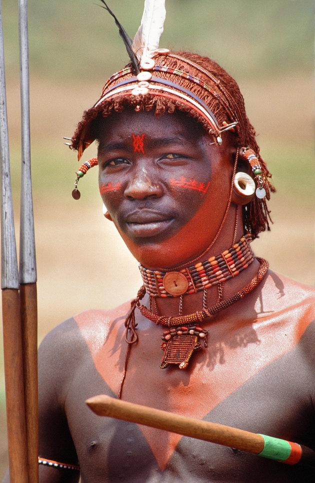Kenia onderweg naar Maralal
