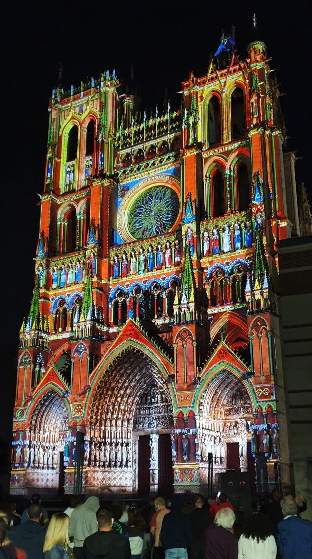 Notre Dame lichtshow