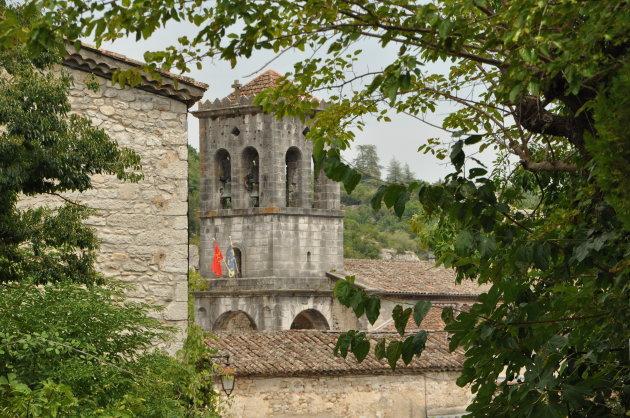 Kerktoren van Labeaume