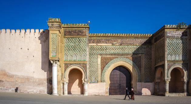 Lockdown in Meknes