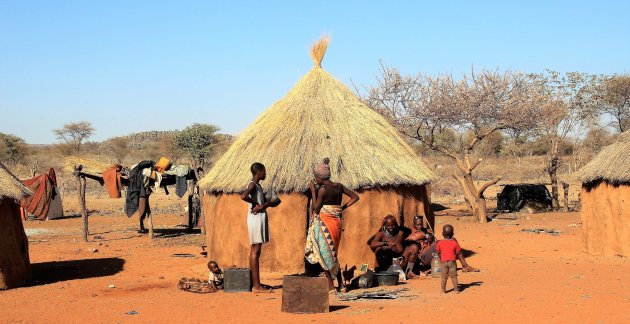 Ochtend bij de Himba's
