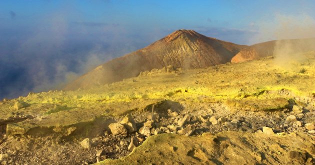 Vulcano Kraterrand