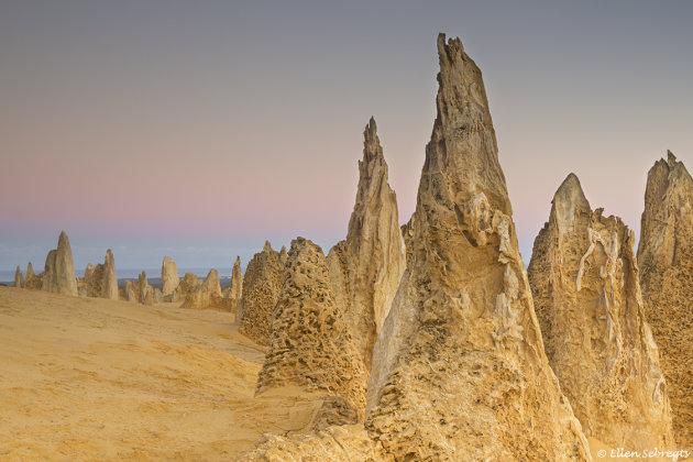 Buitenaards landschap