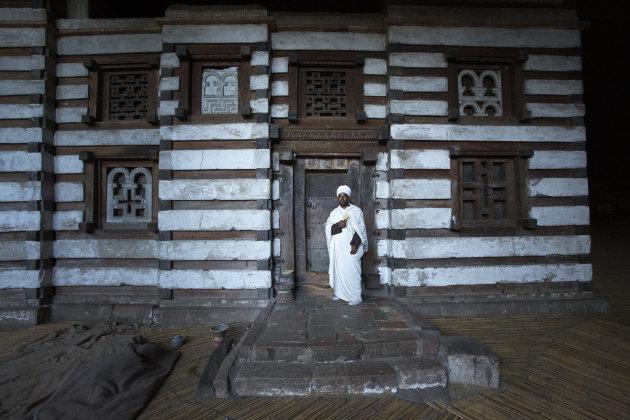 Ethiopië Lalibela Yemrehana Krestos